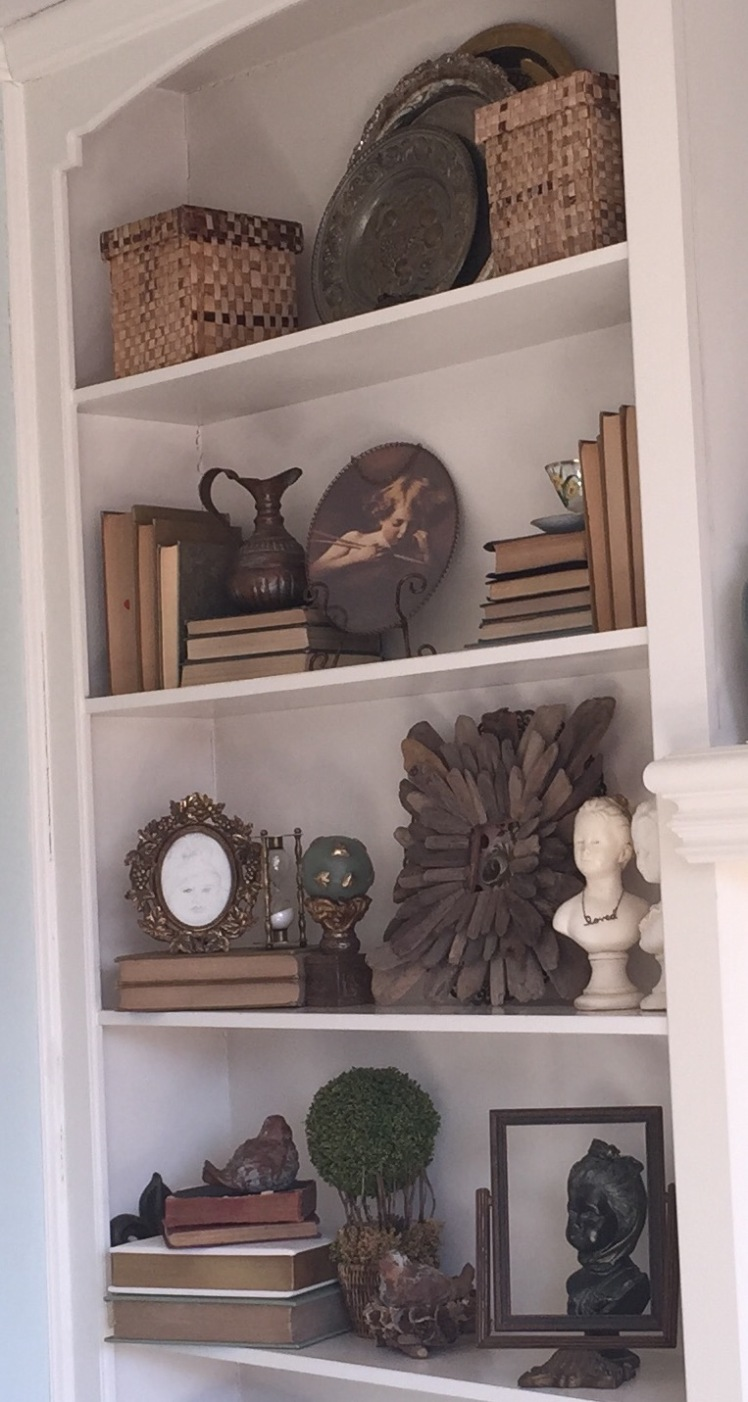 Bookcase Decor 2